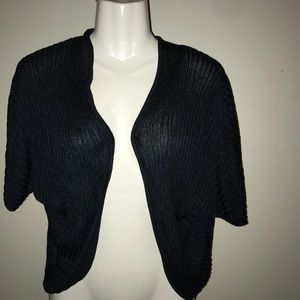 Ann Taylor knitted open blouse